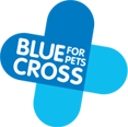 blue cross shop logo
